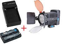 Cветодиодный накамерный видео свет F&V R-3 + батарея + зарядное устройство (R-3)
