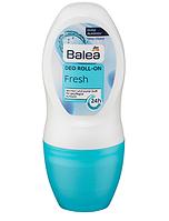 Balea Deo Roll-on Fresh - шариковый Дезодорант-антиперспирант Свежесть (Германия) 50мл.