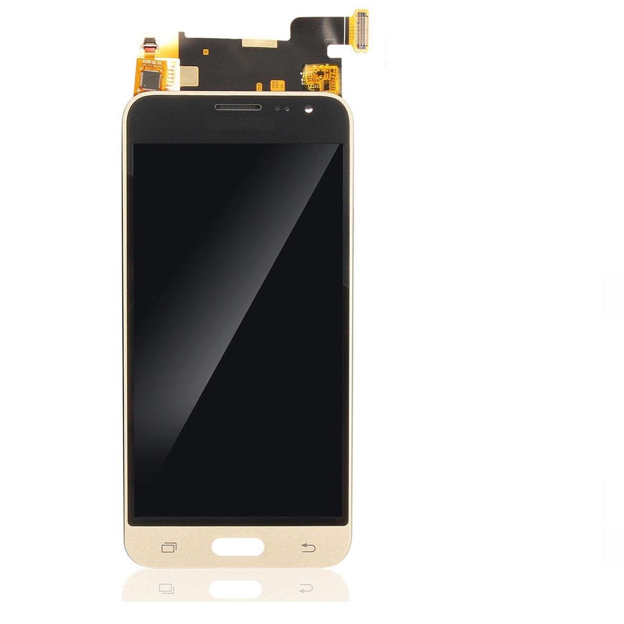 Дисплей Samsung J320 Galaxy J3 (2016) OLED + сенсор золотой