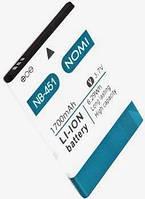 Аккумулятор 100% оригинал Nomi NB-451 i451