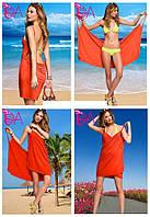 """Платье-парео """"Victoria Secrets"""" (цвет оранжевый ), фото 1"""