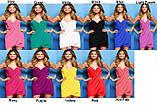 Платье-парео (цвет оранжевый ), фото 7