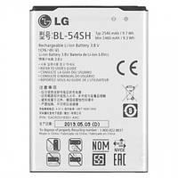 Аккумулятор 100% оригинал LG BL-54SH Aspor D331, D335, D380, D405, D410, D415, D722, D724, H502, X155 2540 mAh