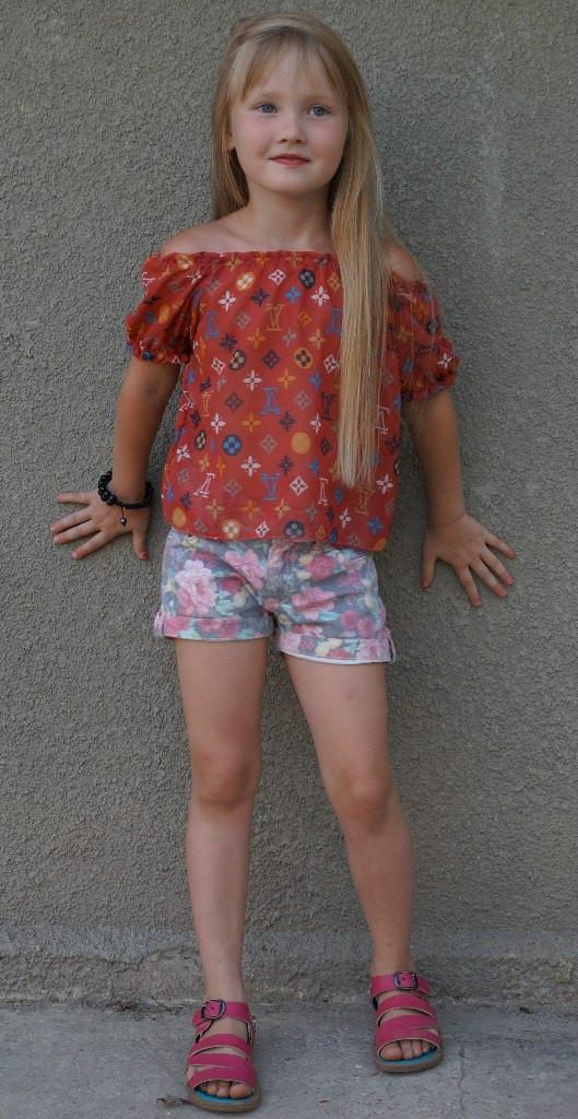 Детская блуза 3065