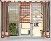 Японские панельки Лён, 2м терракот, фото 1