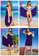 """Платье-парео """"Victoria Secrets"""" (цвет темно фиолетовый )"""