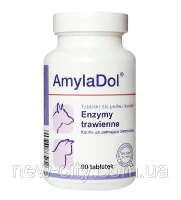 Dolfos (Дольфос) AmylaDol Вит-Мин. корм комплекс для собак и кошек при нарушении пищеварени 90 таб