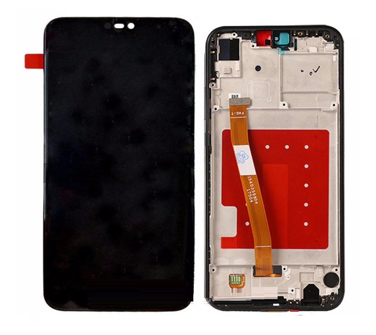 Дисплей Huawei P20 Lite Dual Sim (ANE-L21), Nova 3e + сенсор чёрный + рамка