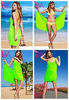 """Платье-парео """"Victoria Secrets"""" (цвет салатовый), фото 1"""