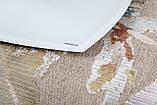 Обеденный раскладной стол HOUSTON (Хьюстон) 130/190*105 белый матовое стекло Nicolas (бесплатная доставка), фото 8