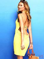 """Платье-парео """"Victoria Secrets"""" (цвет желтый), фото 1"""