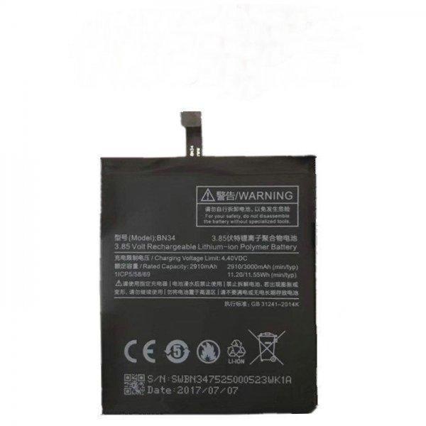 Аккумулятор  Xiaomi BN34 (Redmi 5A) 3000 mAh