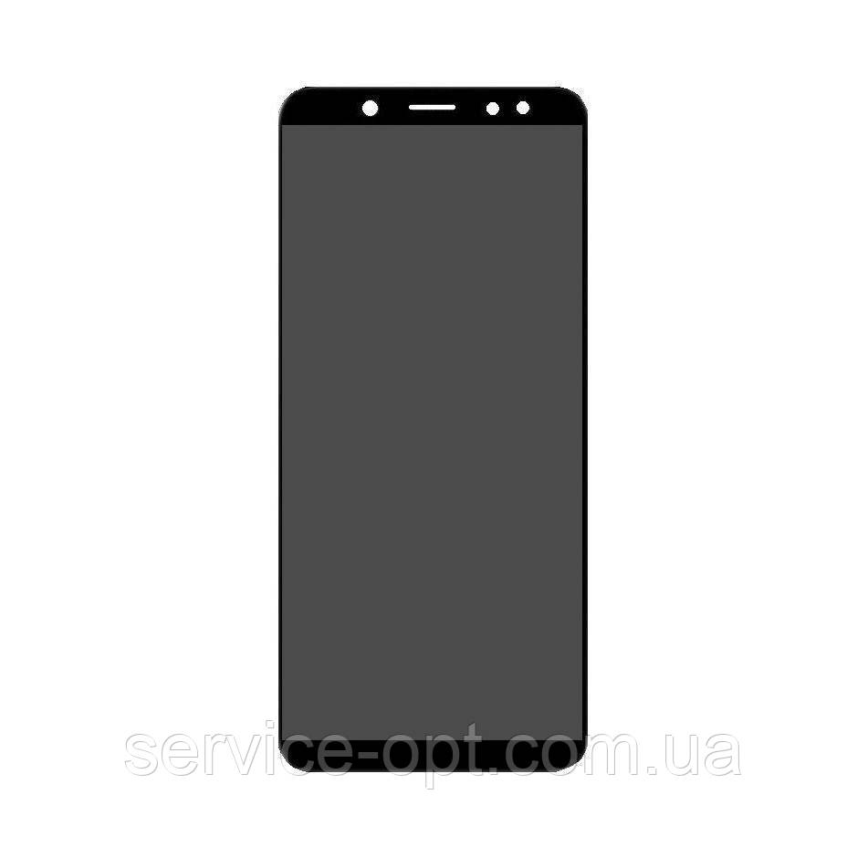 Дисплей Samsung A600 Galaxy A6 (2018) TFT регулируемая подсветка + сенсор чёрный