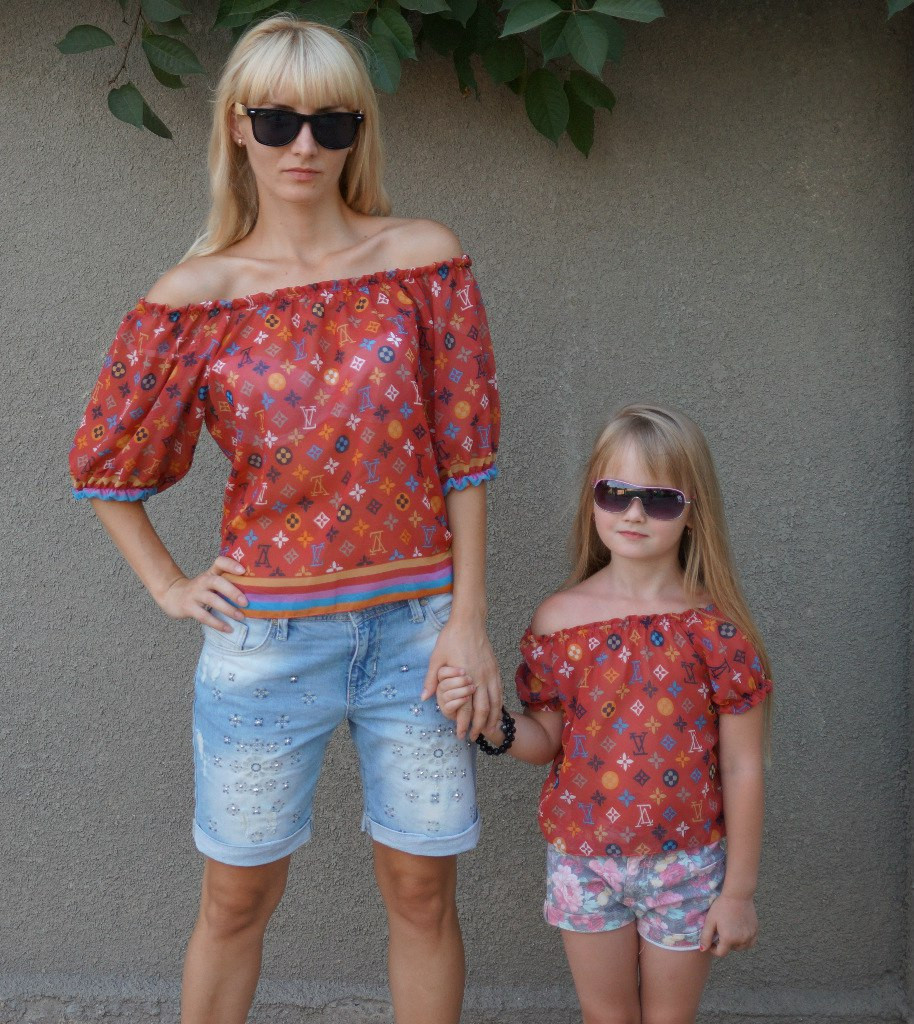 Шифоновая блуза 03065