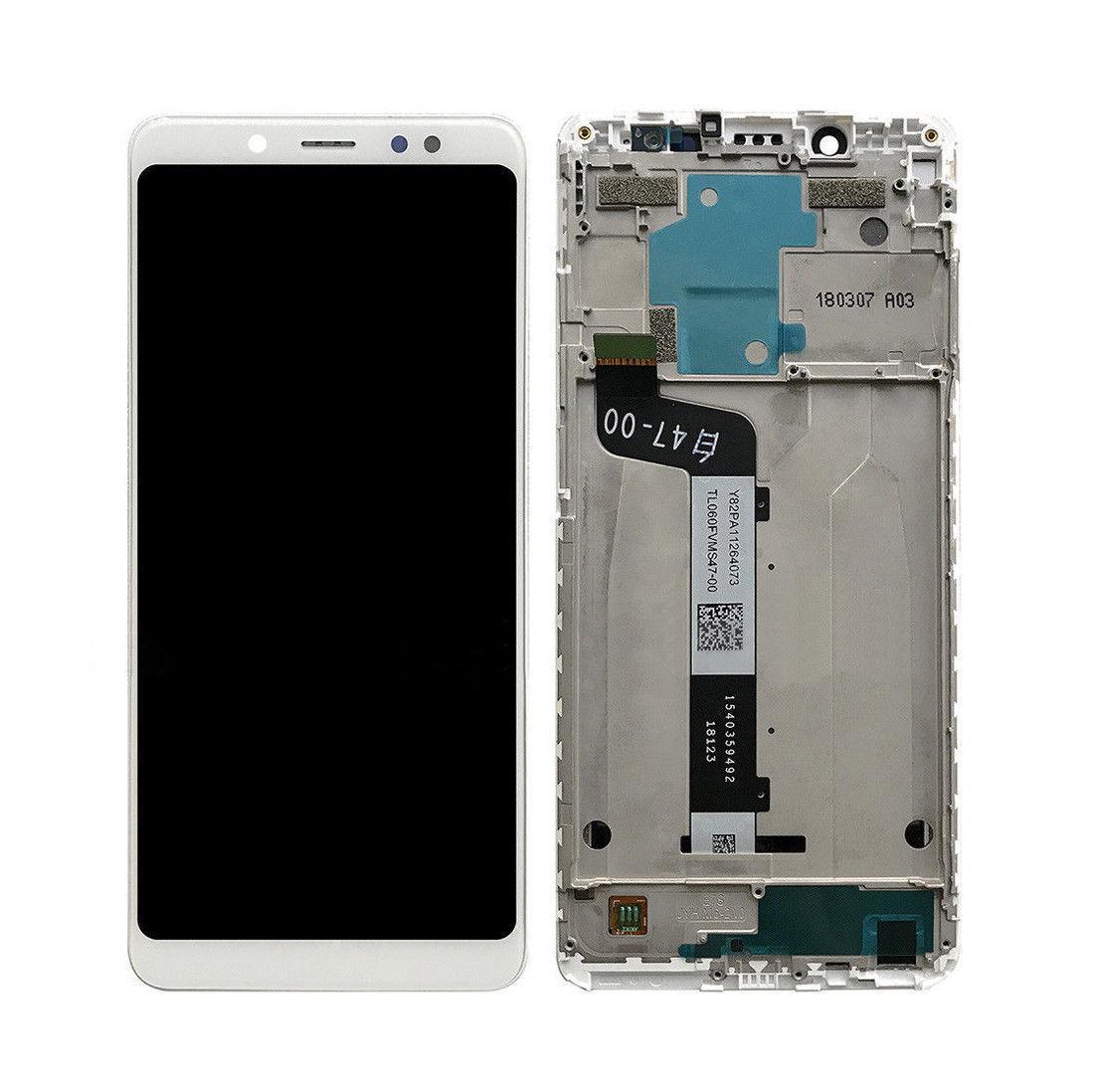 Дисплей Xiaomi Redmi Note 5, Redmi Note 5 Pro + сенсор белый + рамка