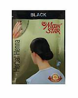 Натуральная хна для волос Мун стар, Moon Star (черная) 10г.