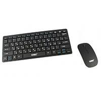Комплект беспроводная клавиатура и мышка для телевизора и ноутбука UKC K-03 RUS русская раскладка