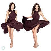 """Платье трансформер """"Скарлет"""" шоколад р-ры от 40 до 50 , фото 1"""