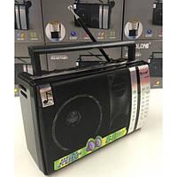Акустическая система Golon радиоприёмник всеволновой аккумуляторный Bluetooth колонка с USB выходом магнитофон в ретро стиле Чёрный (RX-M70BT)