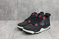 Кроссовки мужские Nike Jordan в стиле Найк Джордан, замша, текстиль код OO-G 5060-2. Синие