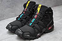 Зимние ботинки  Salomon Speedcross 3 M&S Contagrip, черные (30181) размеры в наличии ► [  41 43  ](реплика)