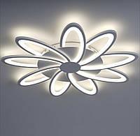 Светодиодная люстра акриловая потолочная 3464-9, фото 1