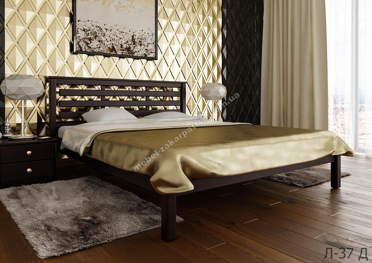Кровать деревянная Л-37 Д