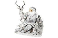 Декоративаня статуэтка Санта с животными, 19,5см