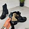 """Ботинки женские ЗИМНИЕ черные """"Foudy"""" НАТУРАЛЬНАЯ КОЖА, фото 7"""
