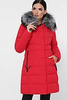 Куртка женская красная М-18-118