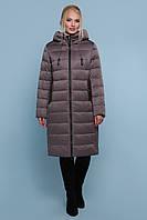 Зимова жіноча курточка з плащовки