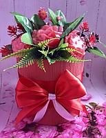 Цветочный букет из мыла  № 4