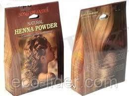 Натуральна безбарвна хна для волосся Пісня Індії (Natural Henna Power Song of India) 100г.