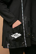 Модная  женская туника с люверсами с 54 по 62  размер, фото 2
