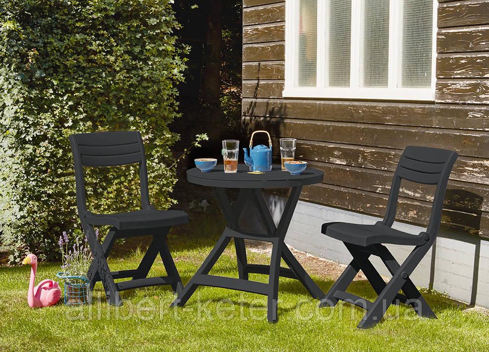 Набор садовой мебели Jazz Set из искусственного ротанга ( Allibert by Keter )