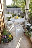 Набор садовой мебели Jazz Set из искусственного ротанга ( Allibert by Keter ), фото 10