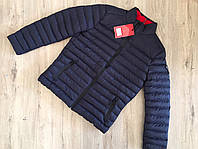 Курточка осенняя стильная синяя