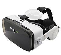 3D очки виртуальной реальности VR BOX Z4 с пультом и наушниками, фото 1