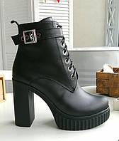Женские кожаные ботильоны от производителя