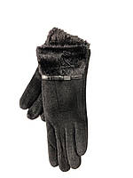 Кашемир перчатки женские на меху оптом со склада в Одессе