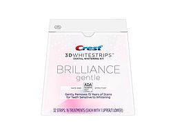 Crest 3D White Whitestrips Brilliance Gentle отбеливающие полоски для зубов 32 шт USA