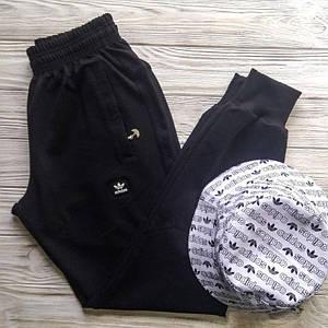 Штаны мужские спортивные Adidas Чёрные