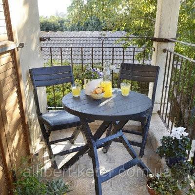 Набор садовой мебели Jazz Set Graphite ( графит ) из искусственного ротанга