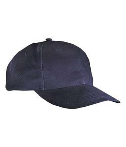 Ламинированная 6 панельная кепка Тёмно-Синий