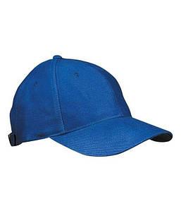 Ламинированная 6 панельная кепка  Ярко-Синий