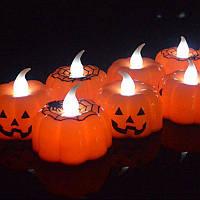 Электронная свеча - LED свечи для Хэллоуина. Упаковка 12шт