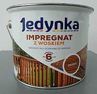 Антисептик импрегнат Jedynka пропитка для дерева с воском 2,5 л