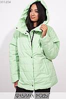 Куртка с прорезными карманами Разные цвета Большие размеры Батал