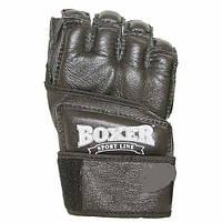 Перчатки для единоборств Boxer Каратэ 5010 Ч M черные (код 236-250343)