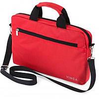 """Сумка для ноутбука Vinga 13"""" NB130RD red (NB130RD), фото 1"""